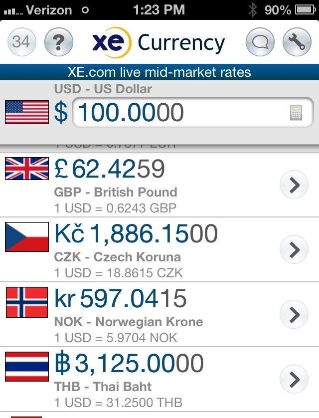 Xe Currency Exchange Best Travel S